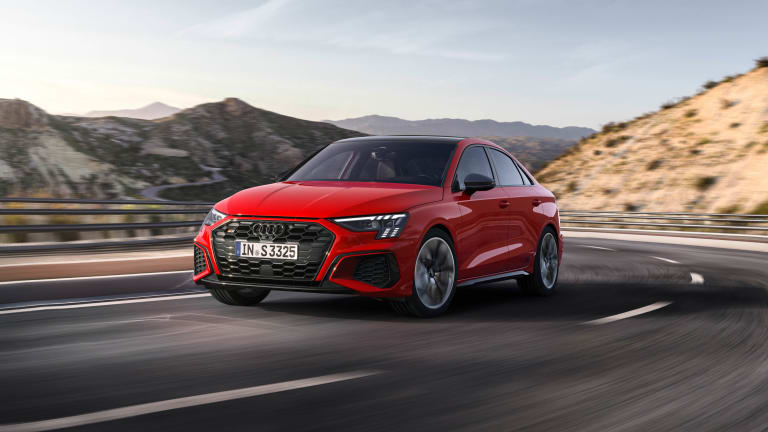 Audi's new S3 brings a sharper design and even more power