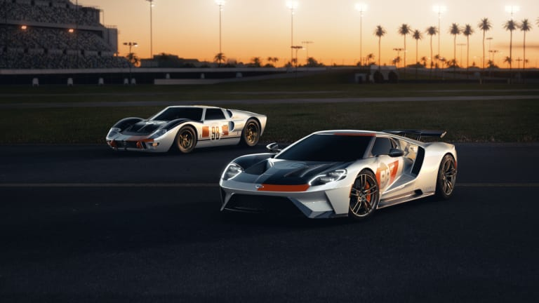 Ford's new GT livery celebrates its 1966 victory at Daytona