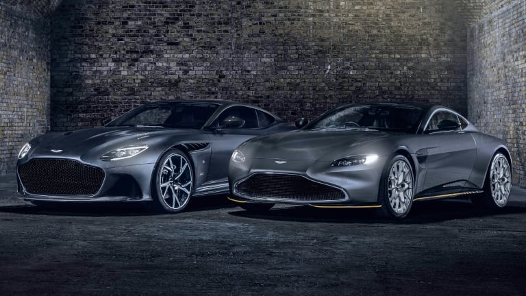 Q by Aston Martin releases two special edition cars for No Time To Die