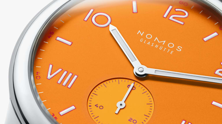 Cool Hunting and Nomos celebrate Pride with a collection of colorful watches