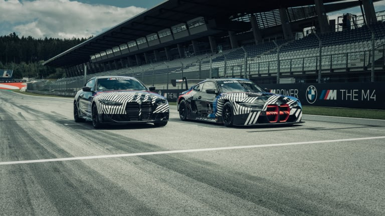 BMW hits the track to preview the next-generation M4