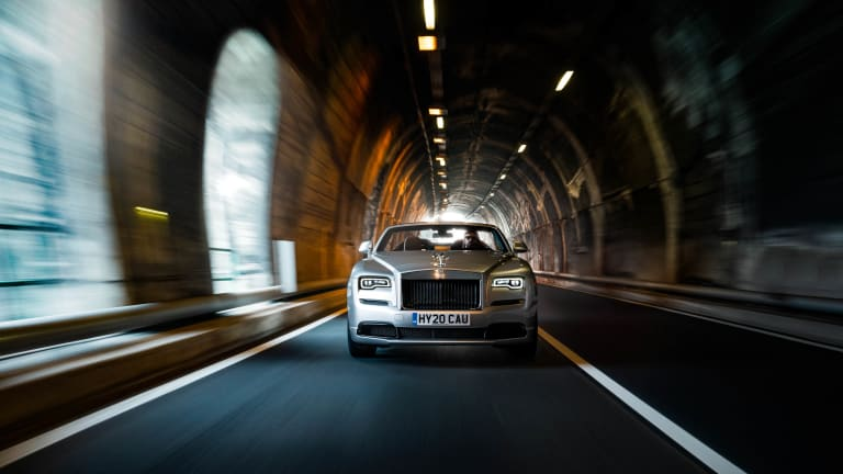 Rolls-Royce fully reveals its Dawn Silver Bullet