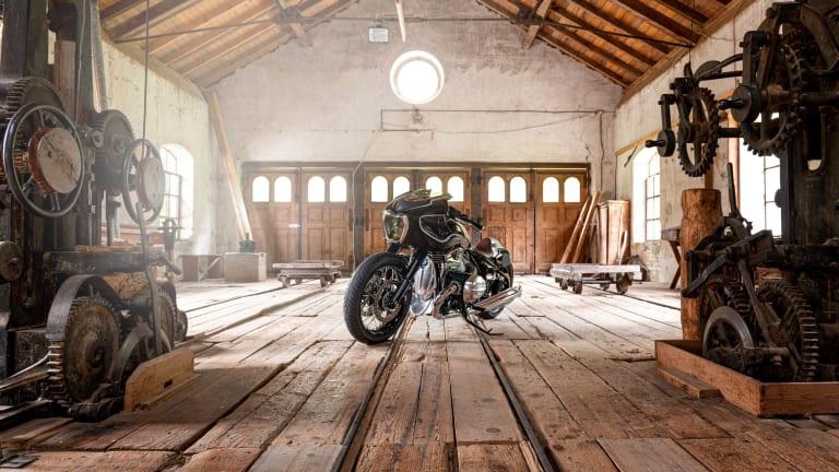 BMW Motorrad reveals its latest custom, the Blechmann R 18