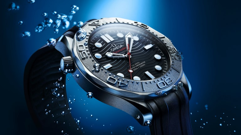 Omega releases a new Seamaster in partnership with Nekton