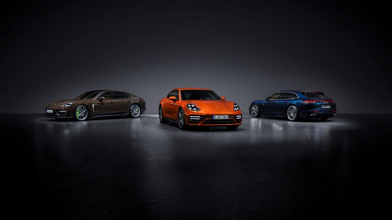 Porsche introduces a sleeker and more powerful Panamera for the 2021 model year