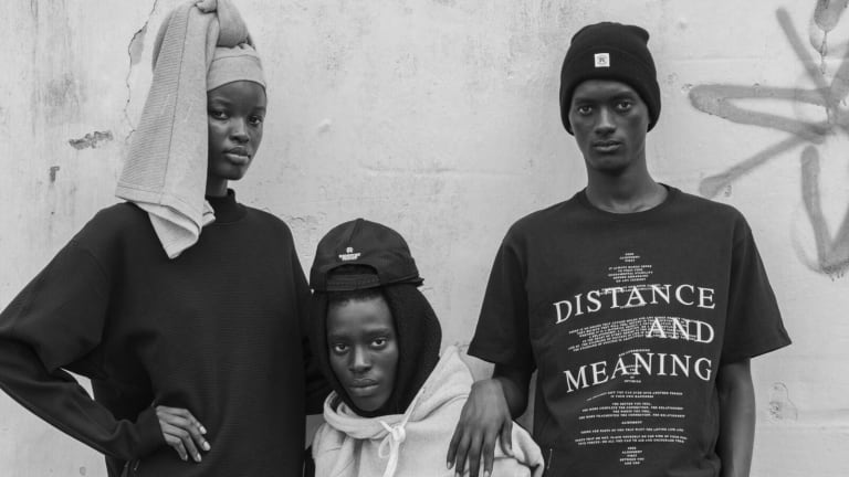 Reigning Champ presents its second collection with designer, Jide Osifeso
