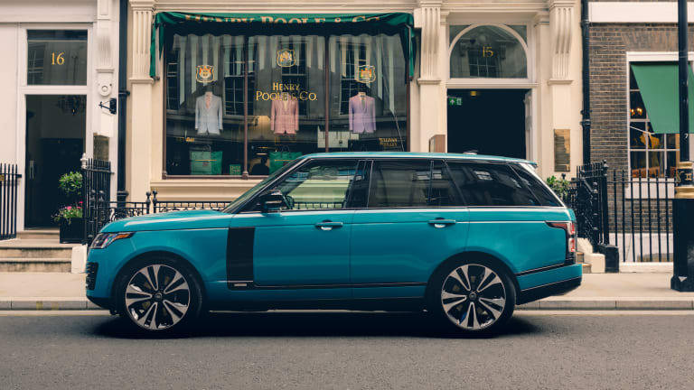 Land Rover and Henry Poole & Co celebrates 50 years of Range Rover