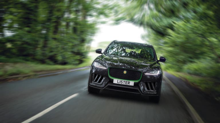 Lister unveils Britain's fastest SUV, the Stealth