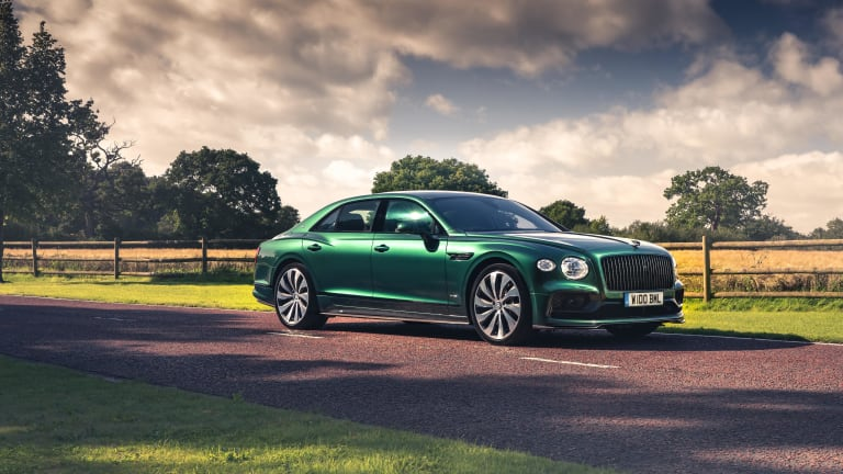 Bentley adds a sporty styling package to the world's fastest production sedan
