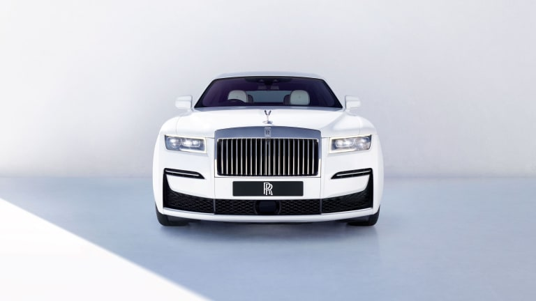 Rolls-Royce reveals its minimalist design philosophy with the new Ghost