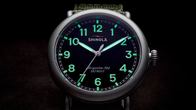 Shinola launches a rugged version of its flagship timepiece