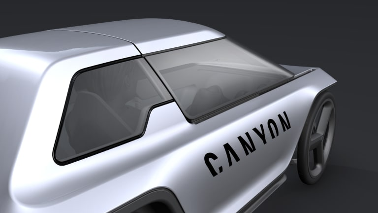 Canyon reimagines what the city car could be with their Future Mobility Concept