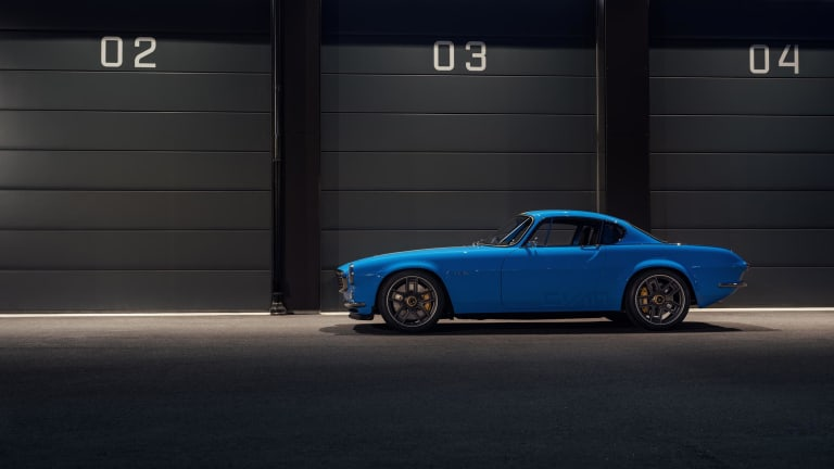 Cyan Racing reveals its tribute to the Volvo P1800