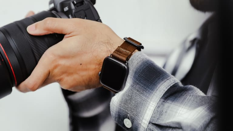 DSPTCH brings the convenience of Fidlock buckle tech to its new Apple Watch strap