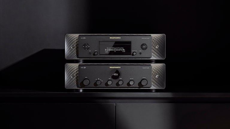 Marantz launches a pair of hi-fi components for aficionados of both physical and digital media