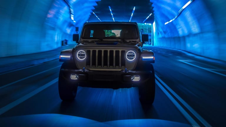 Jeep electrifies the Wrangler with a new plug-in hybrid