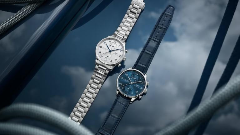 IWC updates the Portugieser with a stainless steel bracelet