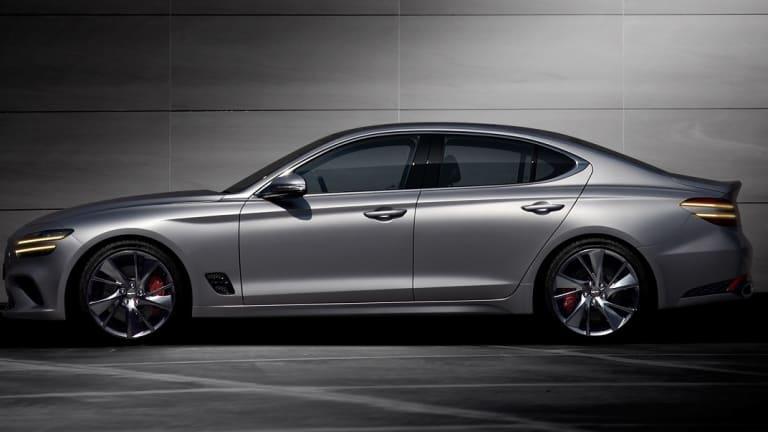 Genesis unveils the all-new G70 sedan