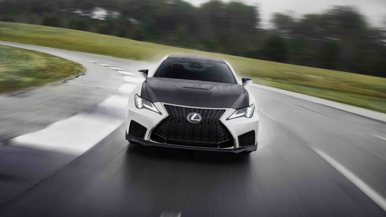 "The 2021 Lexus RC F Fuji Speedway pays homage to the ""Temple of Speed"""