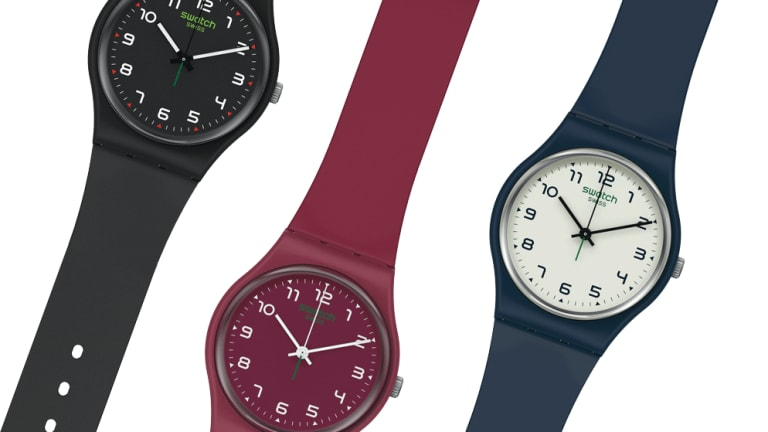 Swatch is relaunching (and recreating) its original collection in bio-sourced materials