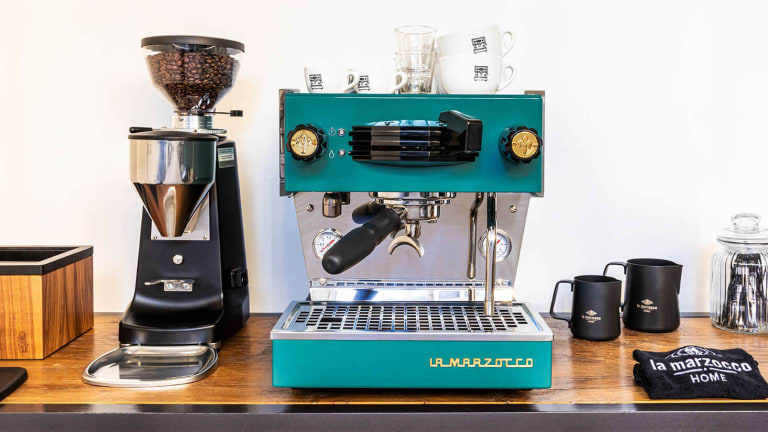 La Marzocco releases its Linea Mini in a sapphire blue-colored special edition