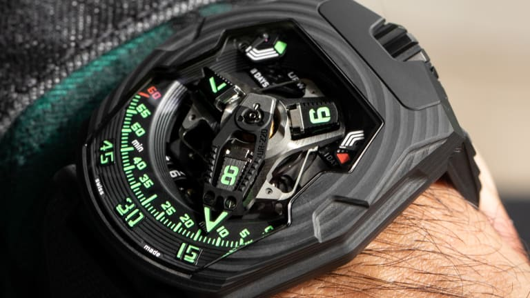 """Urwerk introduces its UR-220 """"Falcon Project"""""""