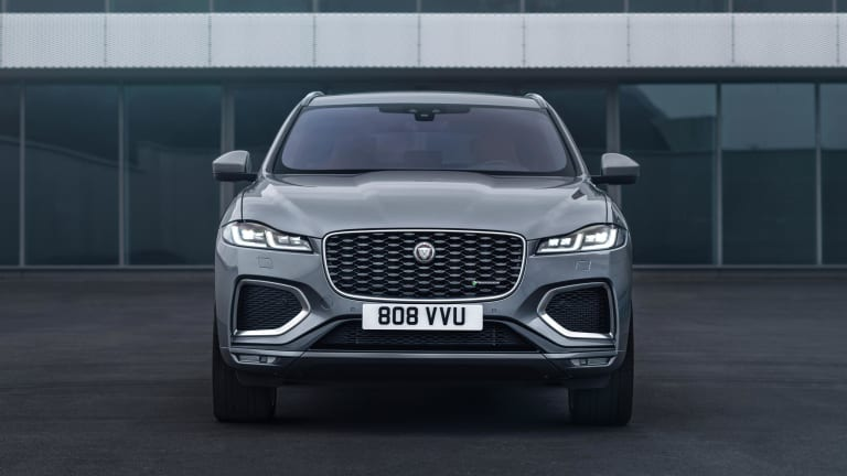 The F-PACE undergoes a sharp refresh for the 2021 model year