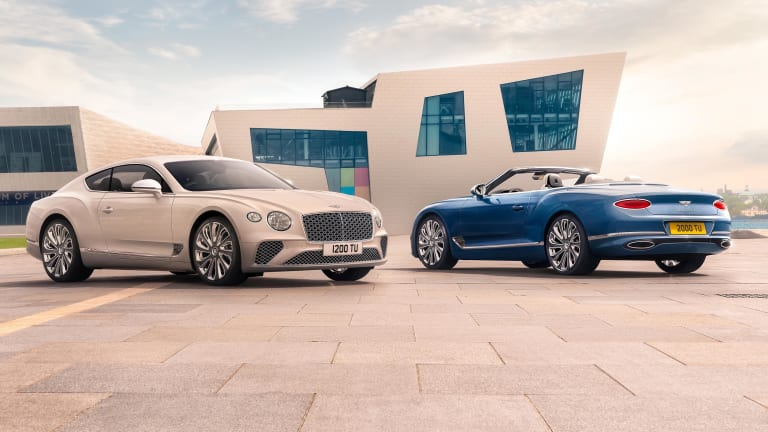 Bentley reveals the Continental GT Mulliner coupe