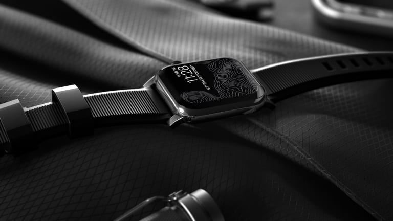 Nomad launches its heavy-duty Rugged Straps for the Apple Watch