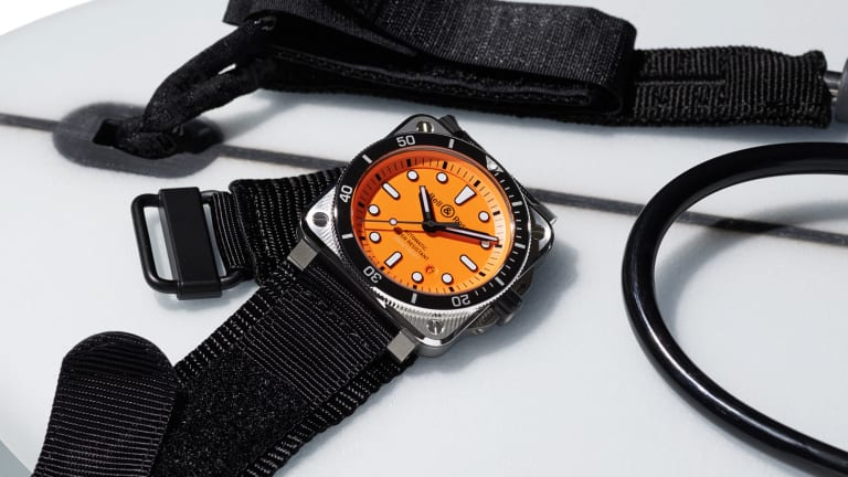 Bell & Ross releases its BR 03-92 Diver Orange