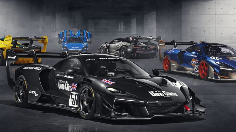 McLaren creates a collection of Sennas inspired by their victories at the 1995 24 Hours of Le Mans