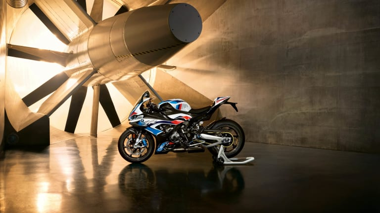 BMW Motorrad's M 1000 RR is the motorcycle brand's first M model