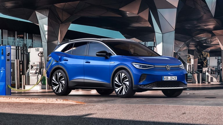 Volkswagen reveals the 2021 ID.4 electric SUV