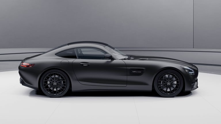 Mercedes-AMG reveals the Stealth Edition AMG GT