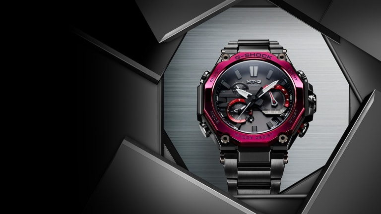 G-Shock debuts its new Dual Core Guard Structure with the MTG-B2000
