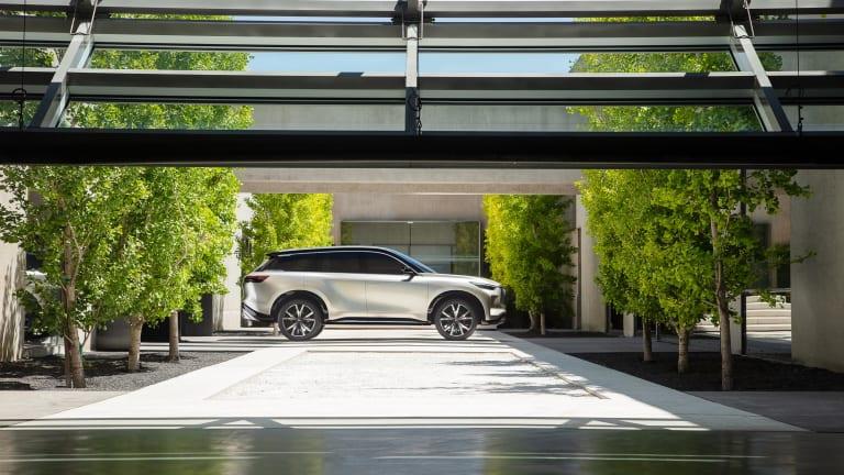 Infiniti's QX60 Monograph previews their upcoming three-row SUV
