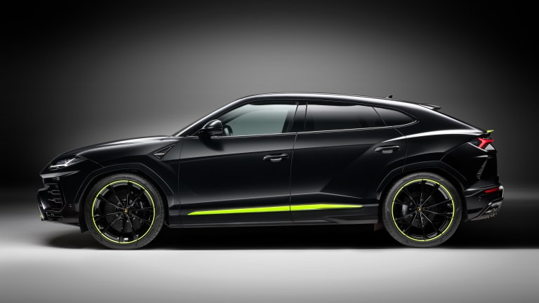 Lamborghini introduces a new Graphite Capsule for the Urus