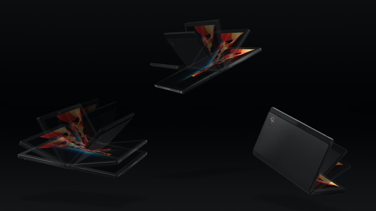 Lenovo reveals the world's first foldable PC, the ThinkPad X1 Fold