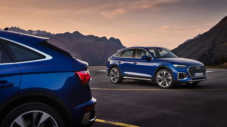 Audi expands its Q5 line with a new Sportback model