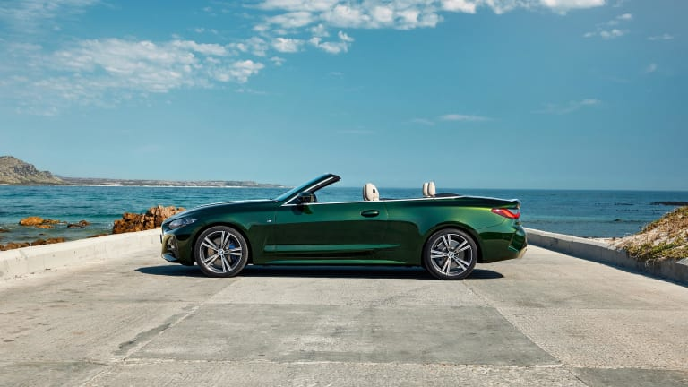 BMW reveals the 2021 4 Series Convertible