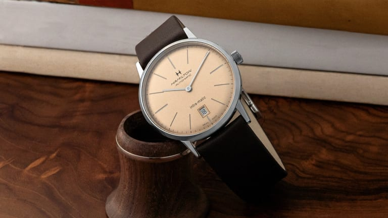 Hodinkee and Hamilton release a special edition Intra-Matic