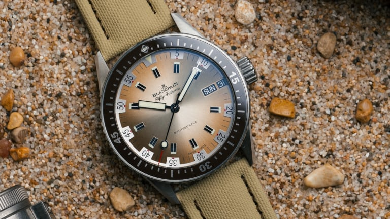 Blancpain refreshes its Bathyscaphe lineup with two new colorways
