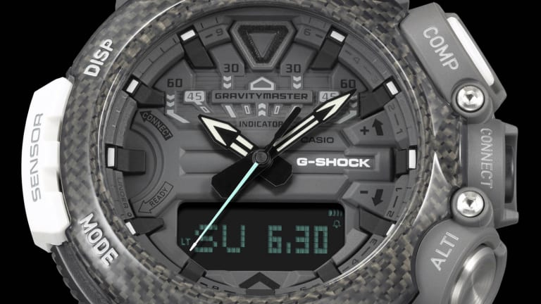 G-Shock UK releases a new Gravitymaster in collaboration with the Royal Air Force