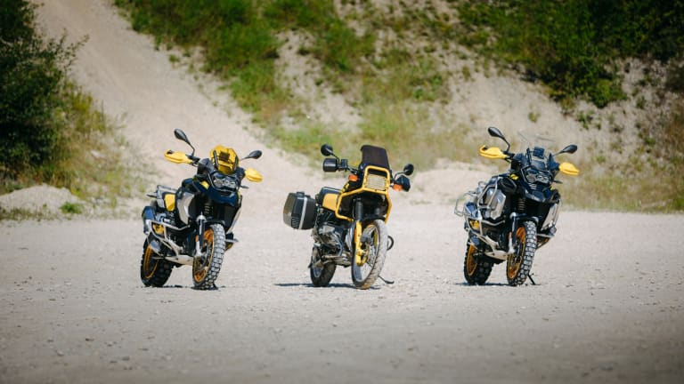 BMW Motorrad celebrates the 40th anniversary of their GS line
