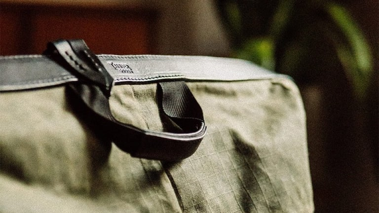 Tanner Goods' Layover Duffle is ready for your next road trip