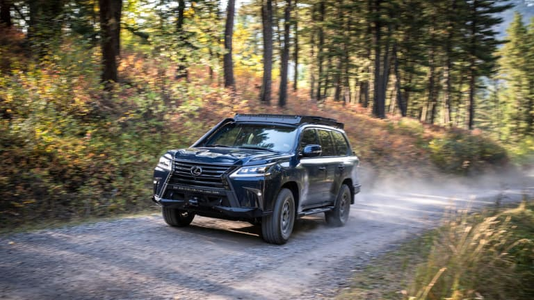 Lexus and Expedition Overland turn the LX 570 into a 550 hp adventuremobile