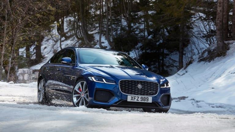 Jaguar reveals its refreshed 2021 XF sedan