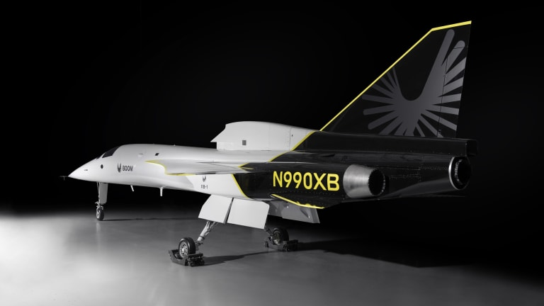Boom Supersonic unveils its XB-1 aircraft