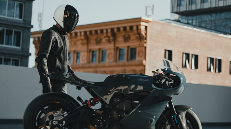 Deus and Zero reveal its first custom electric motorcycle