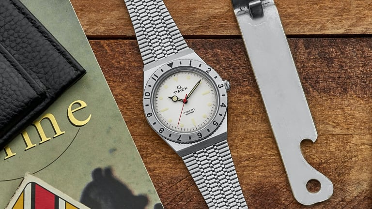 Hodinkee releases a limited edition version of the Q Timex